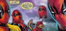 Cuerpo de Deadpool