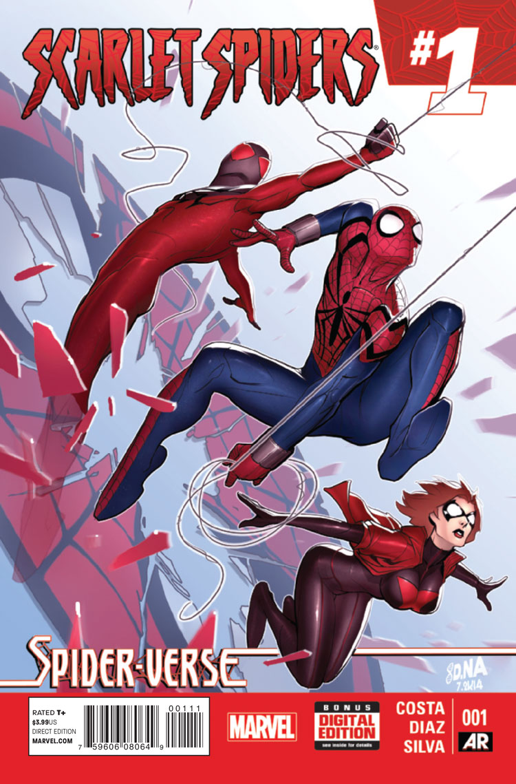 Scarlet Spiders Vol 1 1