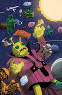 Amazing Spider-Man Vol 4 2 Variante de Kirby Monster SinTexto