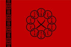 Bandera de los Diez Anillos