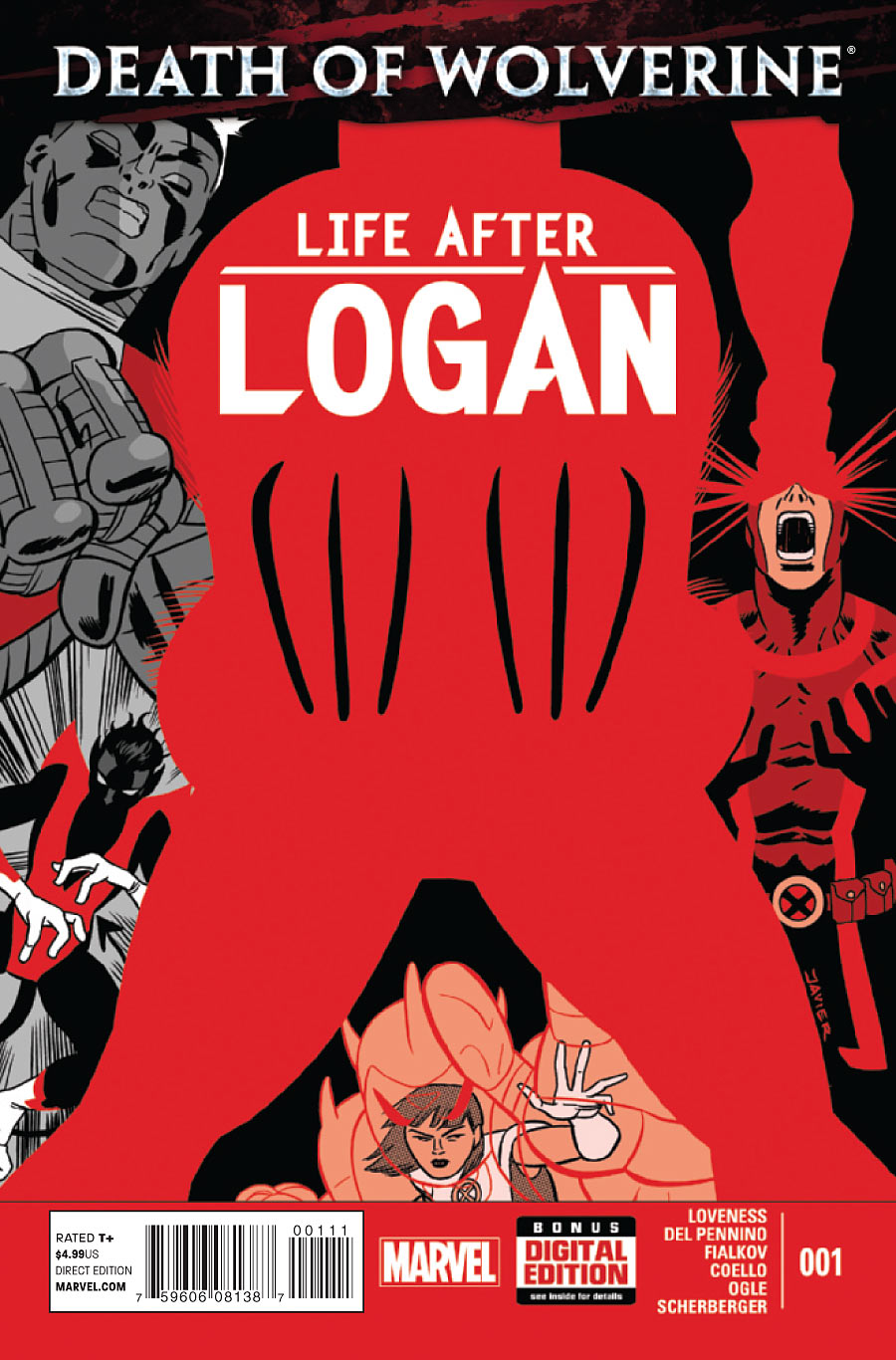 A Morte do Wolverine: A Vida Após Logan Vol 1 1