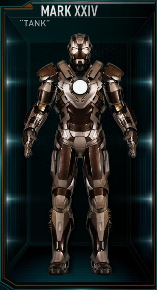 Armadura de Iron Man MK XXIV (Tierra-199999)