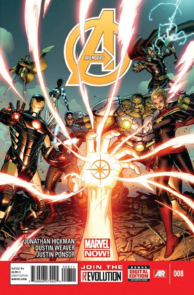 Os Vingadores Vol 5 8