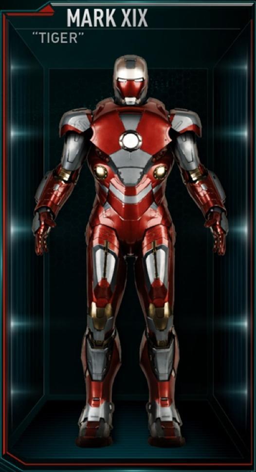 Armadura de Iron Man MK XIX (Tierra-199999)