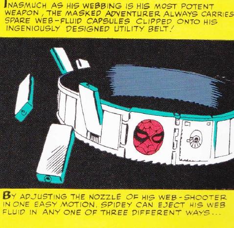 Cinturón de Spider-Man
