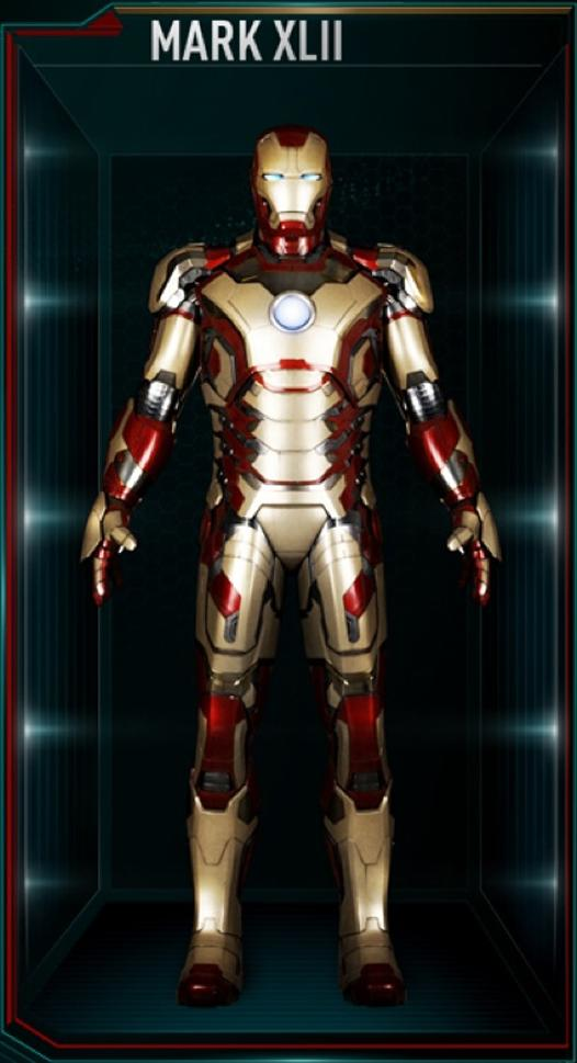Armadura de Iron Man MK XLII (Tierra-199999)