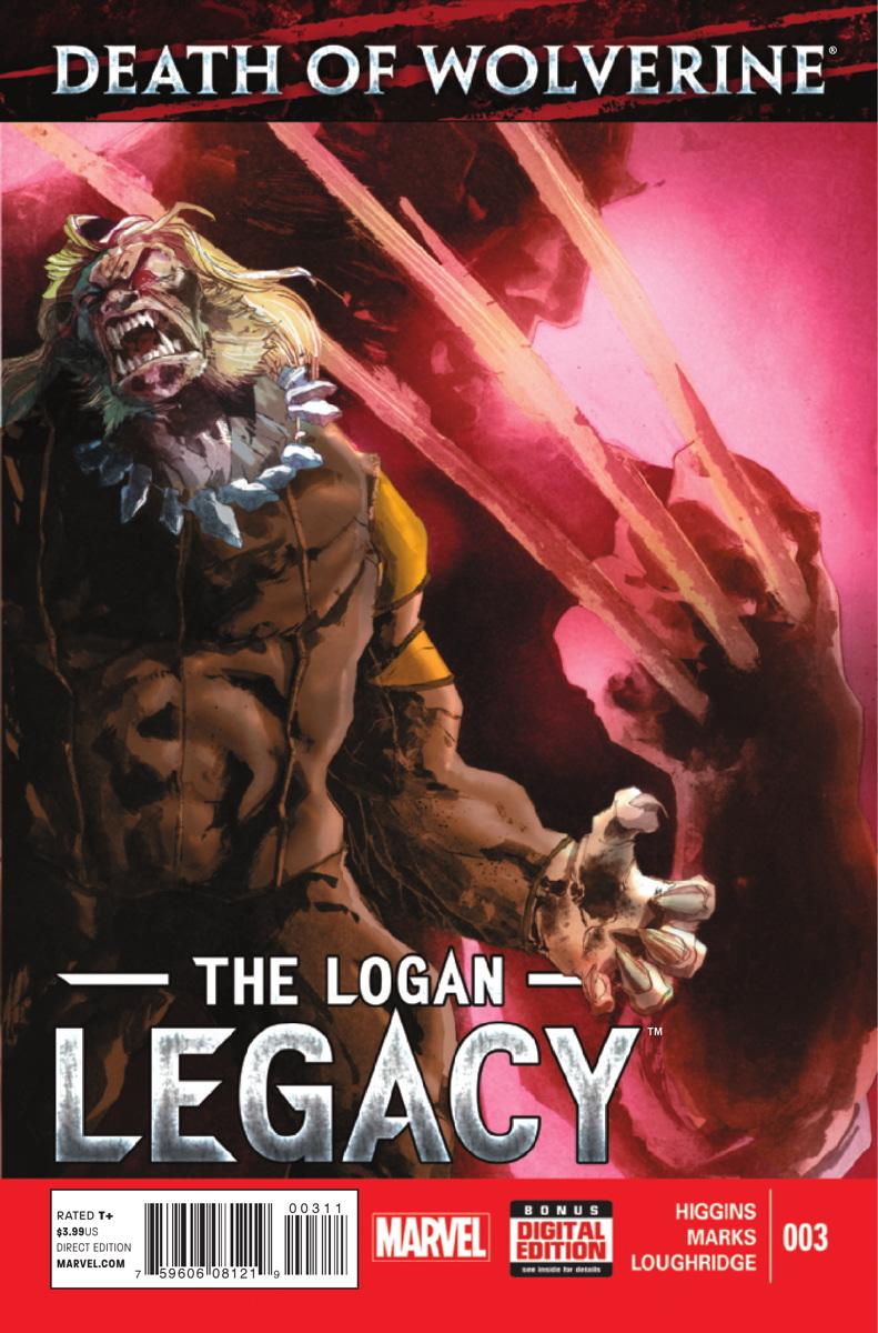 A Morte do Wolverine: O Legado de Logan Vol 1 3