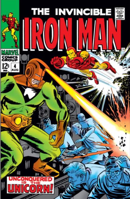 Homem de Ferro Vol 1 4