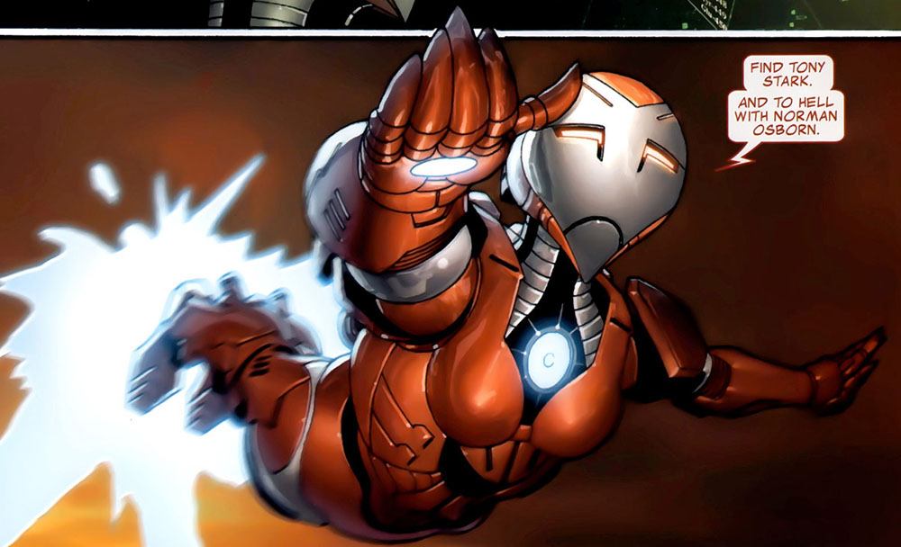 Iron Man Armor Mark 1616