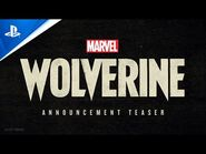 Marvel's Wolverine - PlayStation Showcase 2021- Announcement Teaser Trailer - PS5