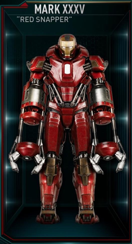 Armadura de Iron Man MK XXXV (Tierra-199999)