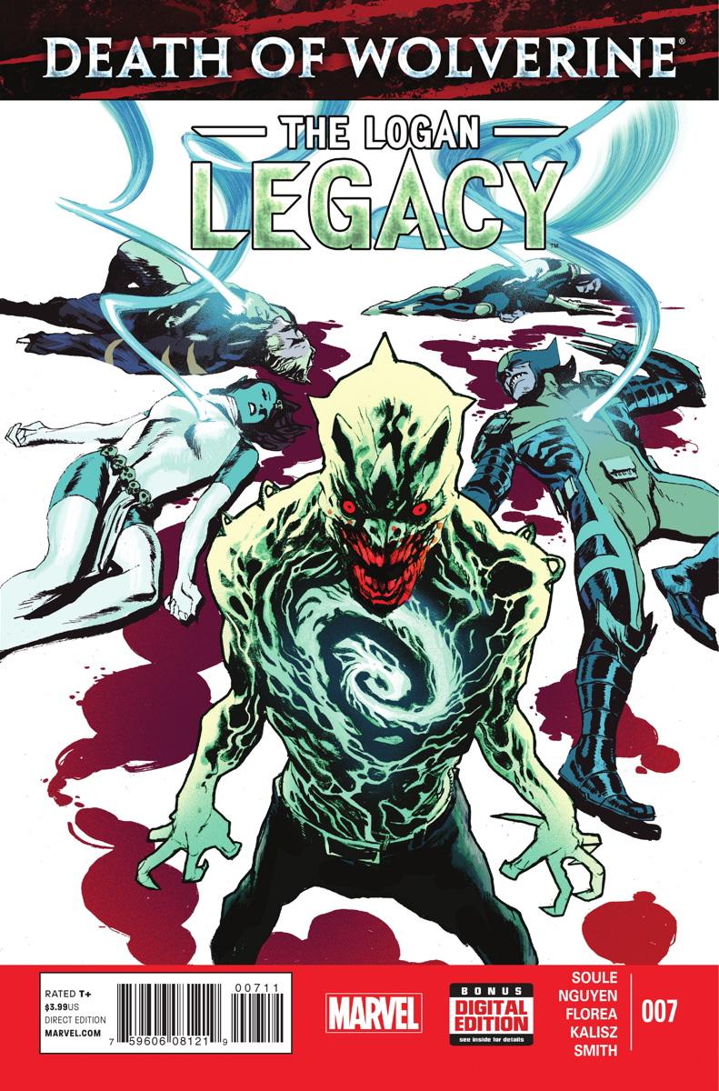 A Morte do Wolverine: O Legado de Logan Vol 1 7