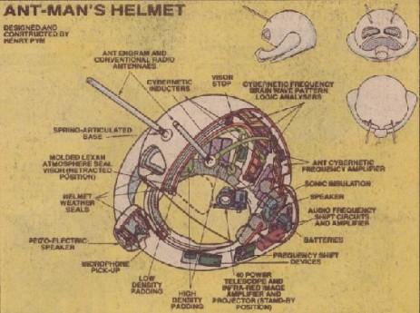 Casco de Ant-Man