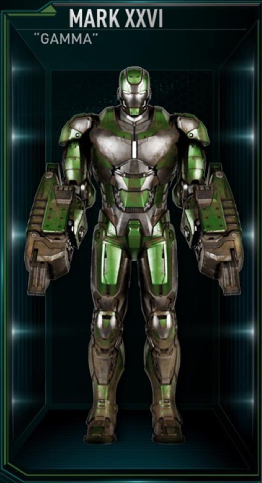 Armadura de Iron Man MK XXVI (Tierra-199999)