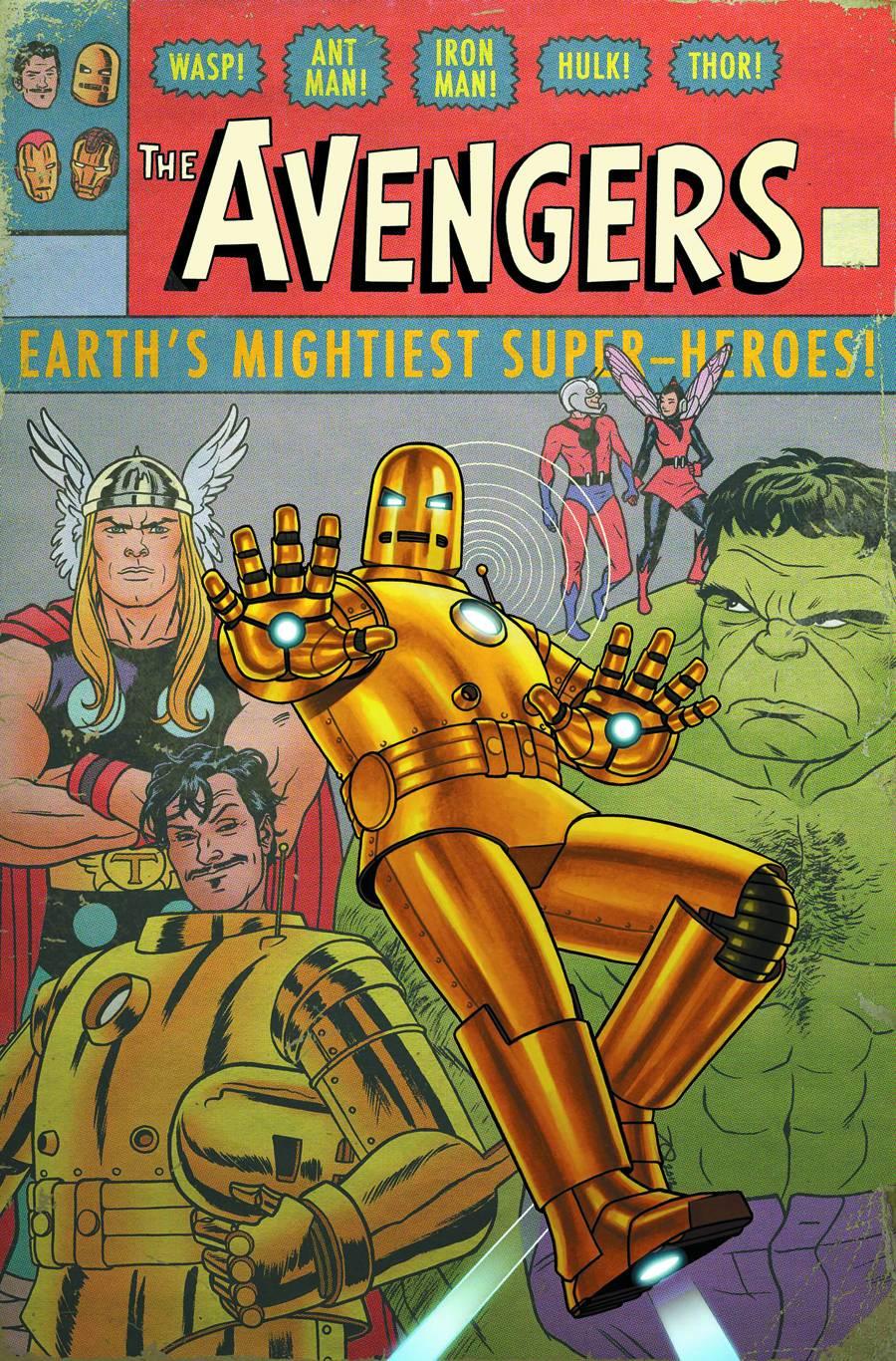 Avengers Vol 5 9 Many Armors of Iron Man Variant Textless.jpg