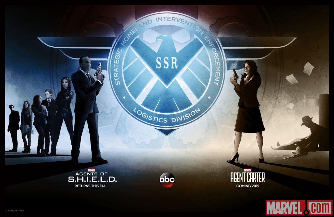 The War Knight/Agente Carter y Agentes de S.H.I.E.L.D. renovadas para una segunda y tercera temporada respectivamente
