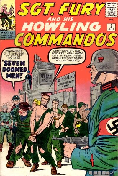 Sgt Fury e seu Comando Selvagem Vol 1 2