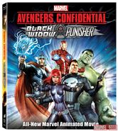 Avengers Confidential- Black Widow & Punisher poster