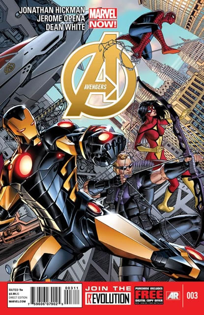 Os Vingadores Vol 5 3