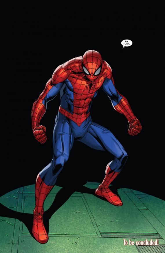 The War Knight/El regreso de Peter Parker en Superior Spider-Man 1 30