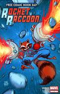 Free Comic Book Day Vol 2014 Rocket Raccoon