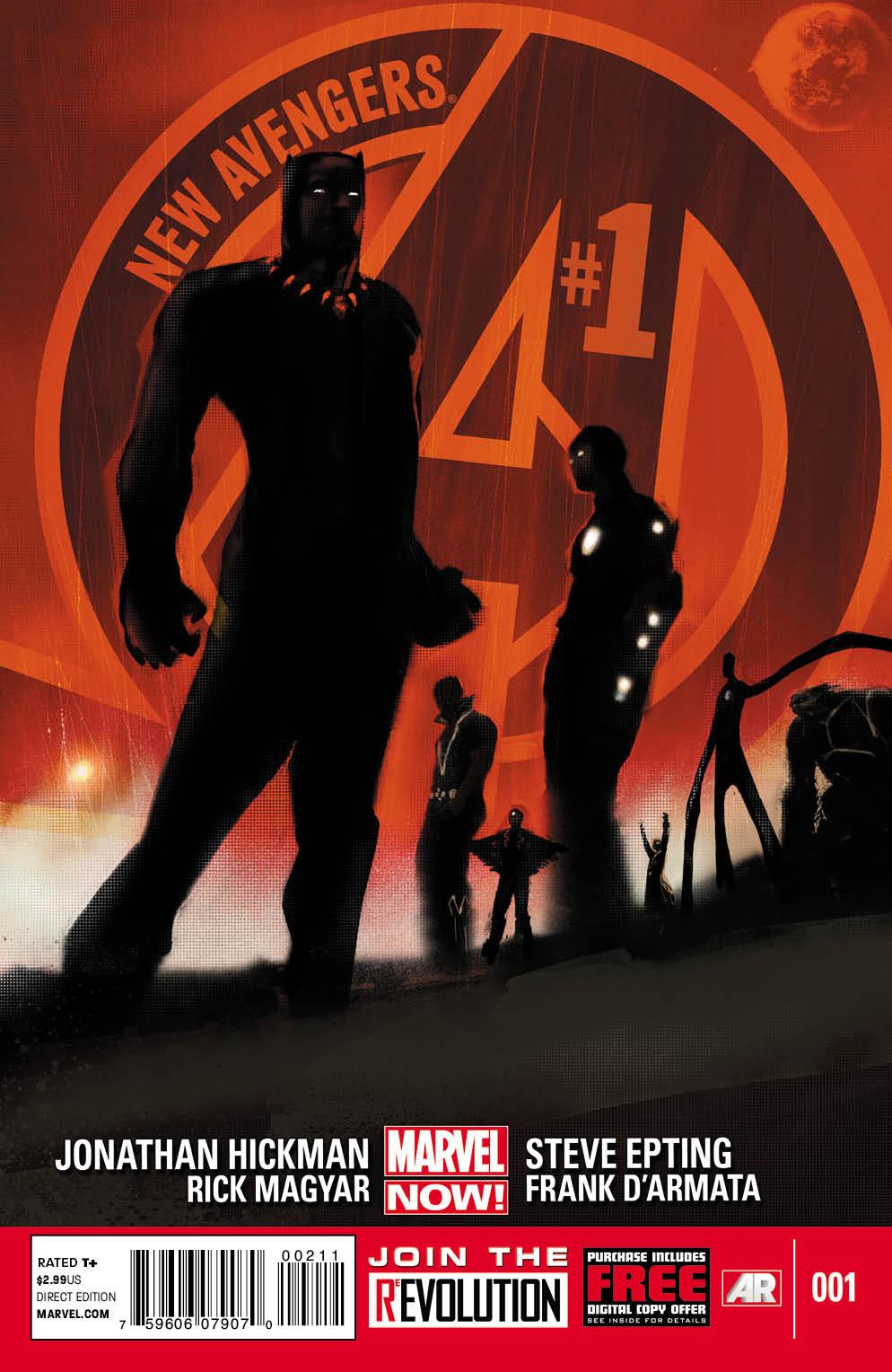 Novos Vingadores Vol 3 1