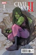 Civil War II Vol 1 1 She-Hulk Variant