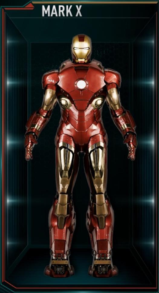 Armadura de Iron Man MK X (Tierra-199999)