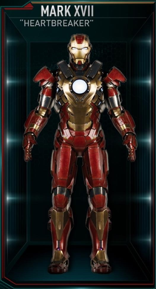 Armadura de Iron Man MK XVII (Tierra-199999)