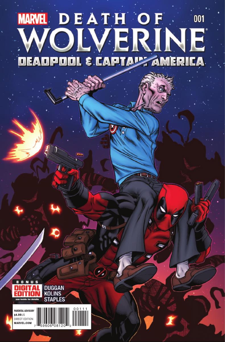 A Morte do Wolverine: Deadpool e Capitão América Vol 1 1