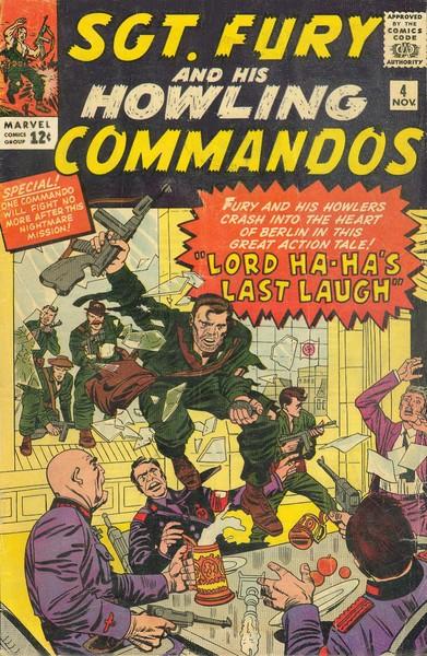 Sgt Fury e seu Comando Selvagem Vol 1 4