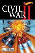 Civil War II Vol 1 1 Hot Wheels Variant