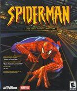 Spiderman (videojuego 2000 cubierta Microsoft)