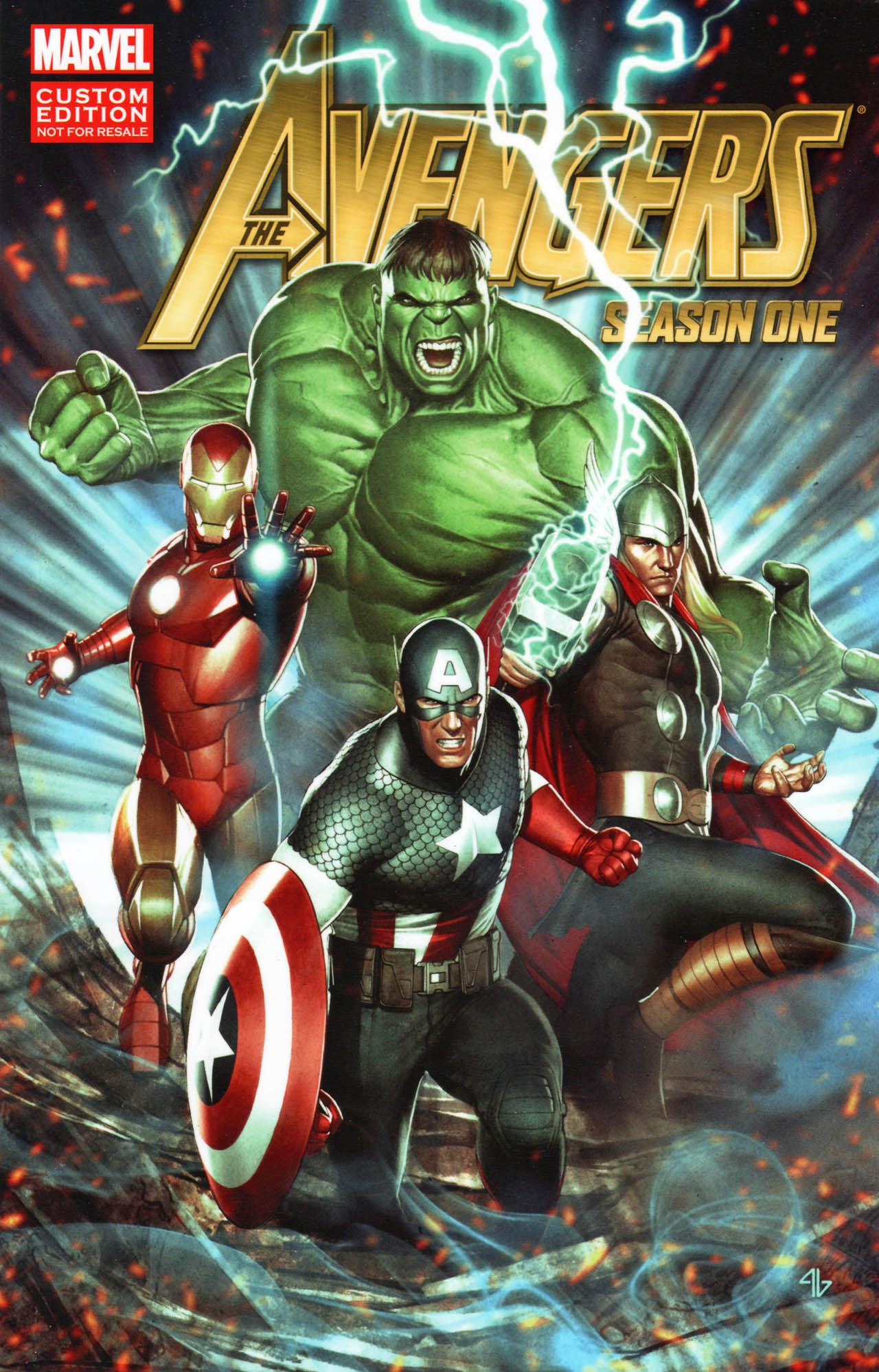 Os Vingadores: Temporada Um Vol 1 1