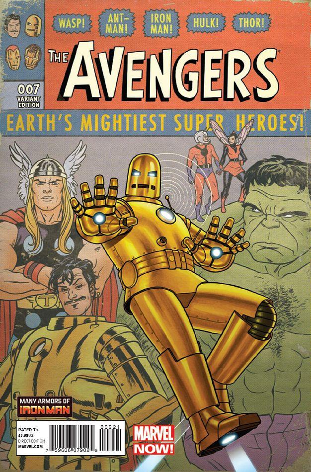 Avengers Vol 5 9 Many Armors of Iron Man Variant.jpg