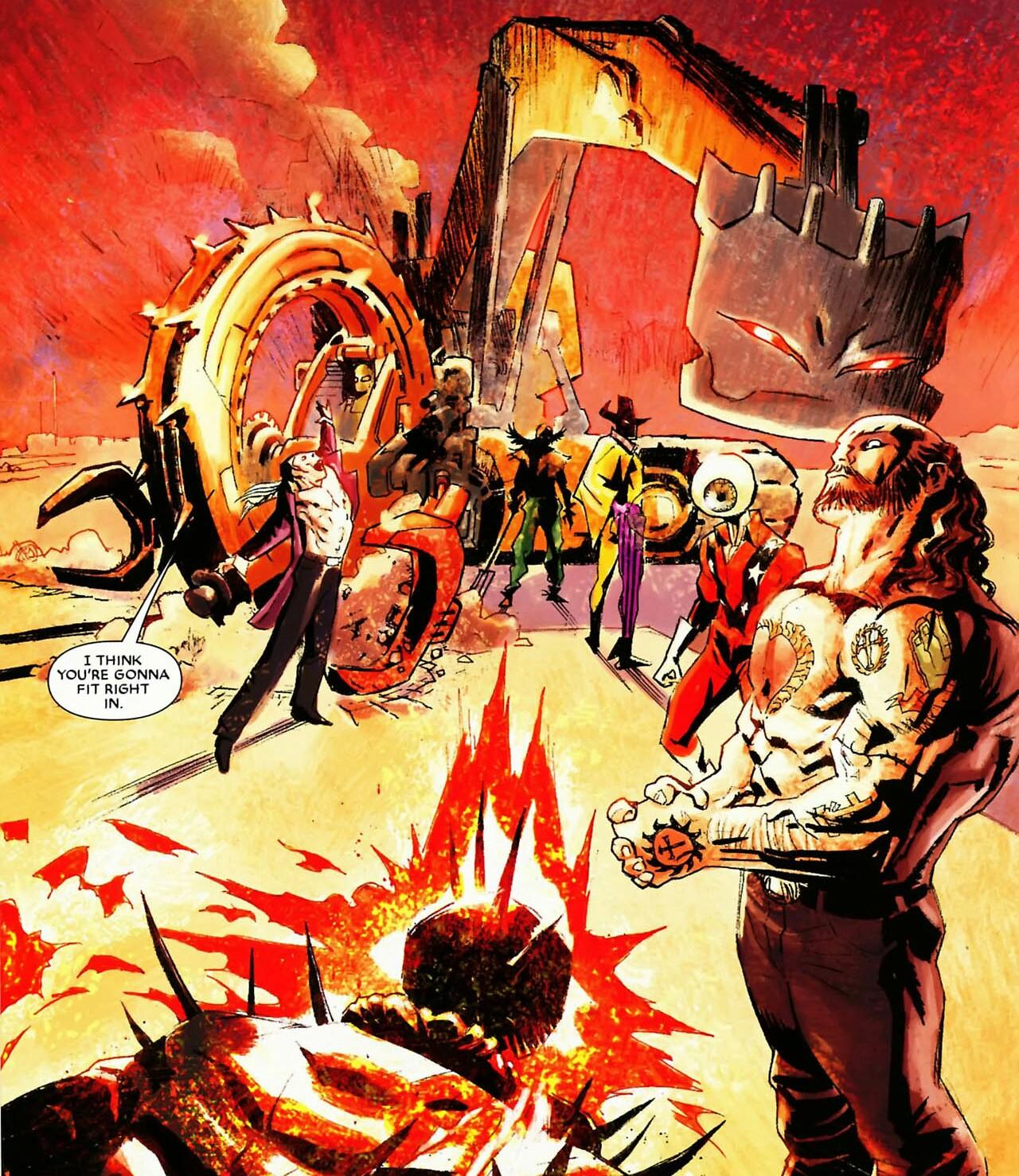 Liga de Assassinato do Motoqueiro Fantasma (Terra-616)