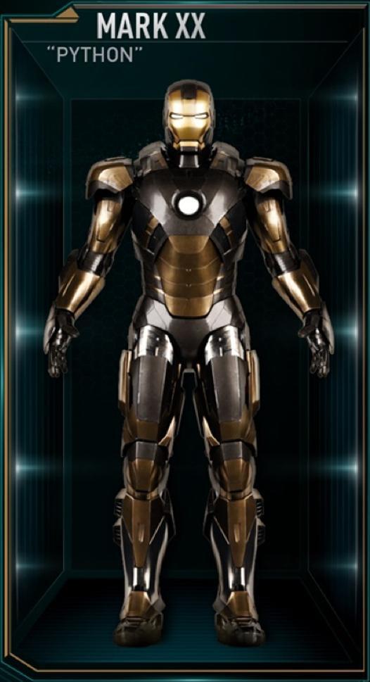 Armadura de Iron Man MK XX (Tierra-199999)