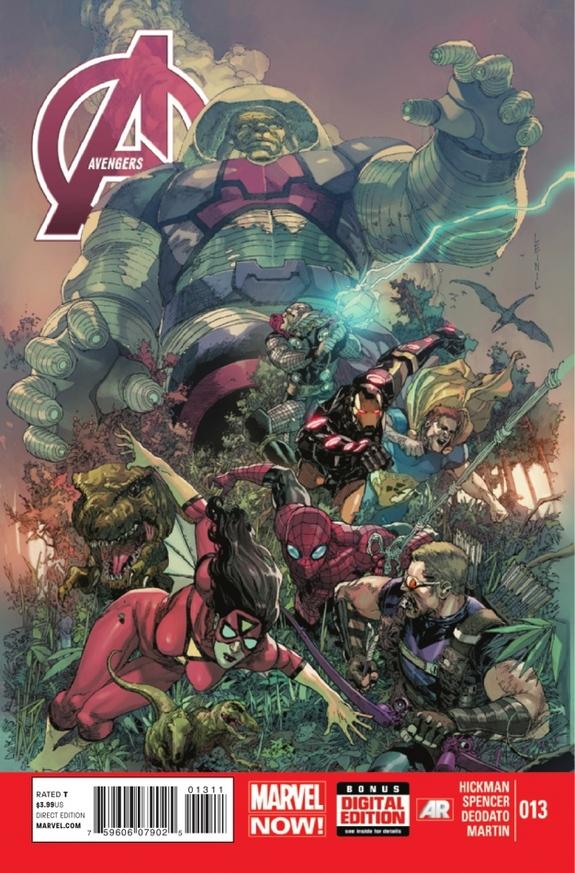 Os Vingadores Vol 5 13