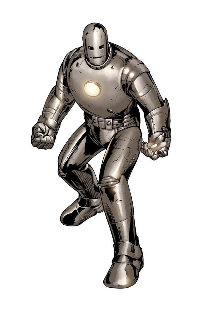 Armadura do Homem de Ferro Modelo 1