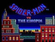 The Amazing Spider-Man vs. The Kingpin (Sega Master System - intro screen)