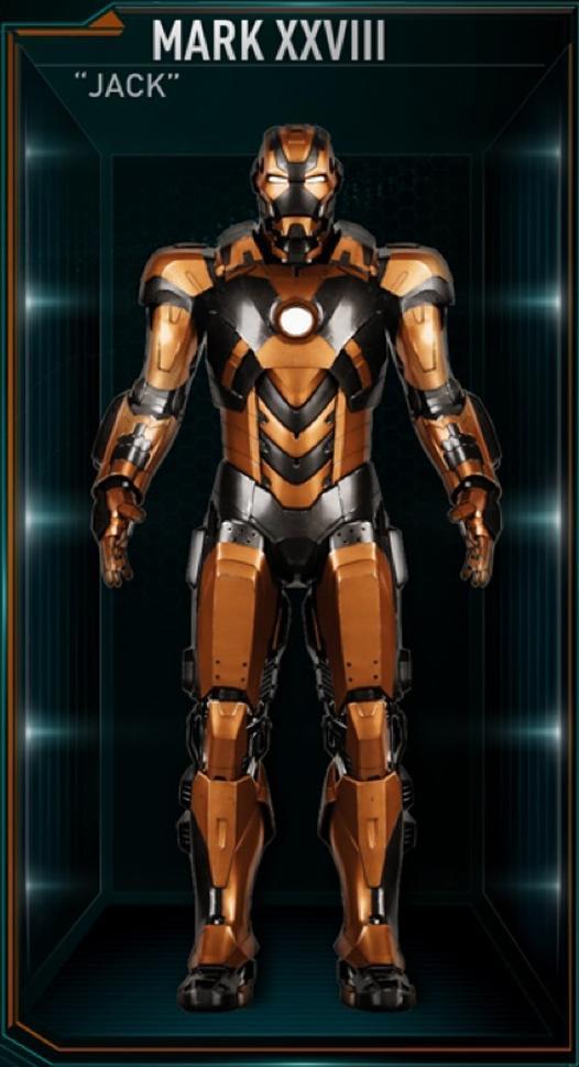 Armadura de Iron Man MK XXVIII (Tierra-199999)