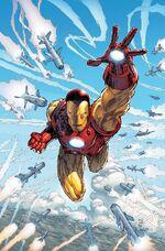 Invincible Iron Man Vol 1 14 Silvestri Variant Textless.jpg