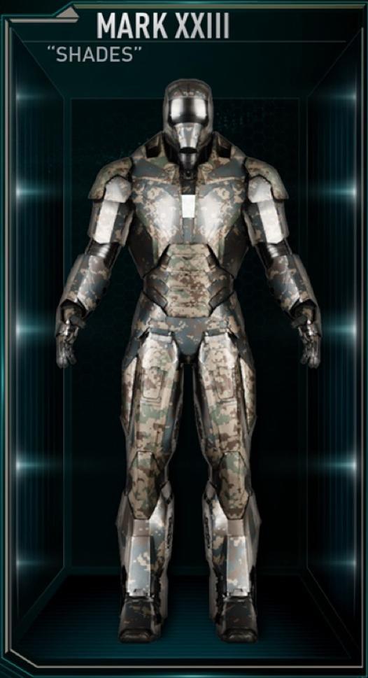 Armadura de Iron Man MK XXIII (Tierra-199999)