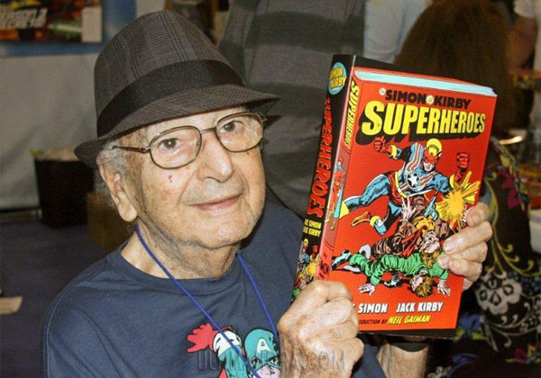 The Lord Zeke/Muere a los 98 años Joe Simon, co-creador del superhéroe Capitán América