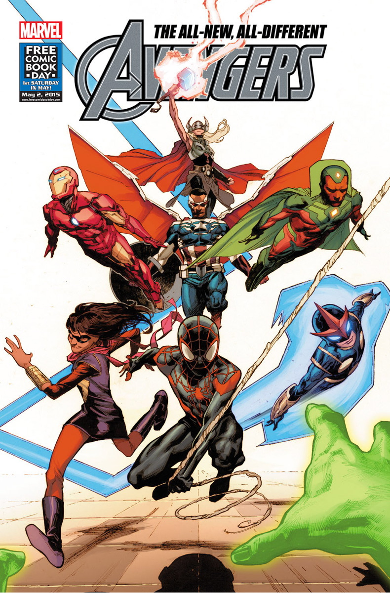 The War Knight/Revelados todos los miembros de All-New, All-Different Avengers
