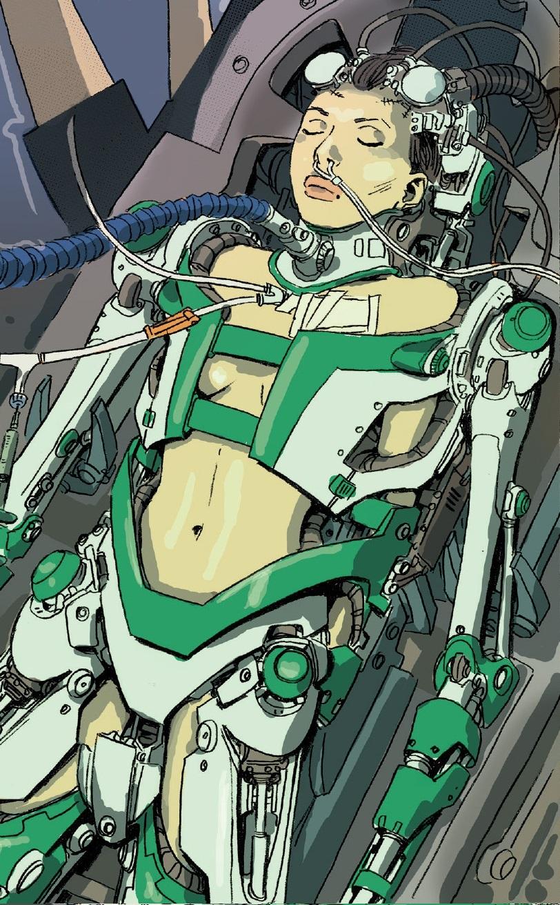 Hannah Ikegami (Terra-31411)/Galeria
