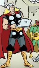 Thor Odinson (Terra-21011)/Galeria