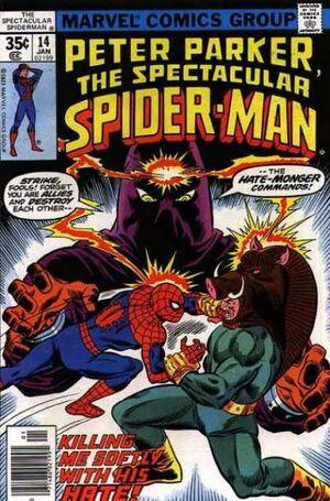 Peter Parker, O Espetacular Homem-Aranha Vol 1 14.jpg