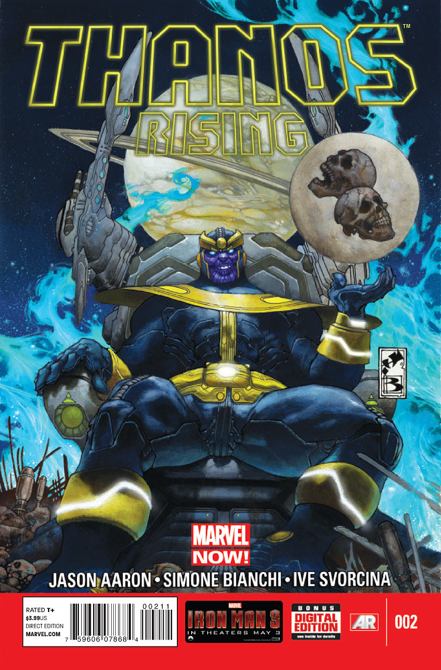 A Ascensão de Thanos Vol 1 2