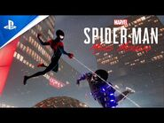 """Marvel's Spider-Man- Miles Morales – """"Spider-Man- Into the Spider-Verse"""" Suit Announce - PS5, PS4"""